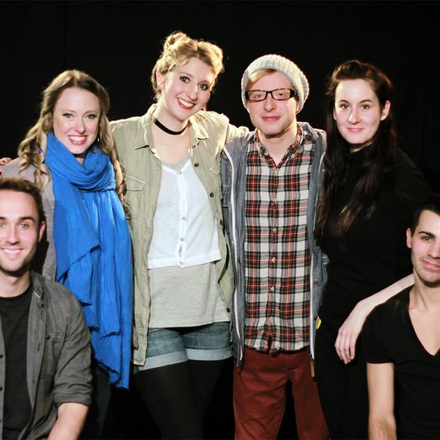 The Cast & Crew of Ordinary Days LDN, 2016