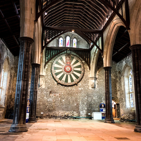 Great Winchester Hall: The dream of Camelot shared by Edward I & The Tudors