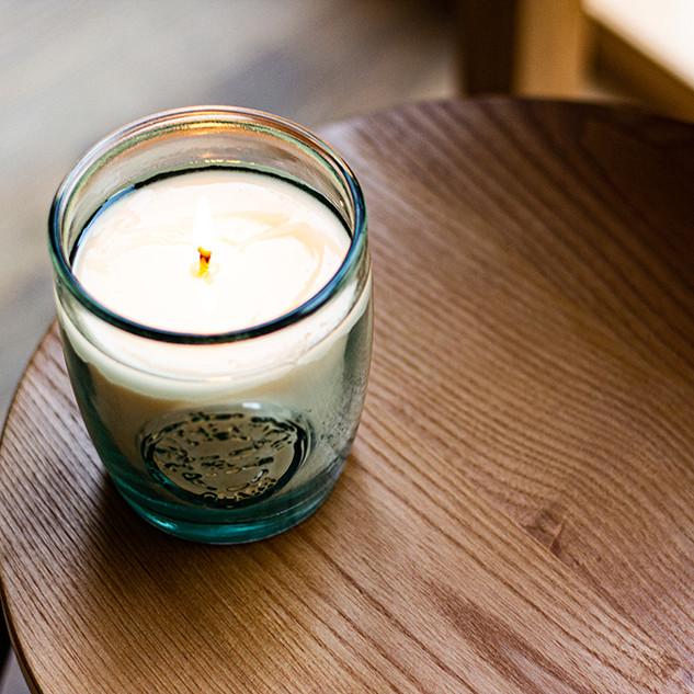 Stanza Artigiana Candle Recycled Glass 400 g