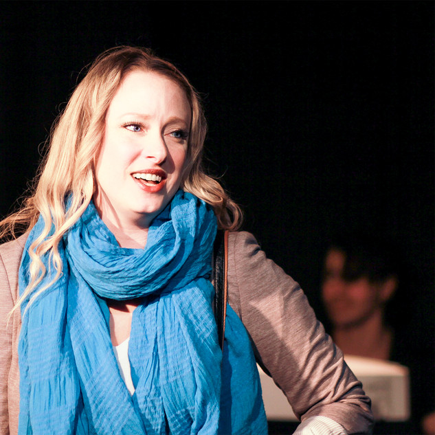 Emily Lynne as Claire, 2016