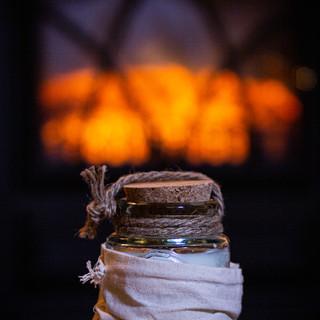 Stanza Artigiana Recycled Glass Candle 250 g