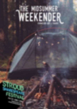 Midsummer Weekender Poster (made by Kate Raw)