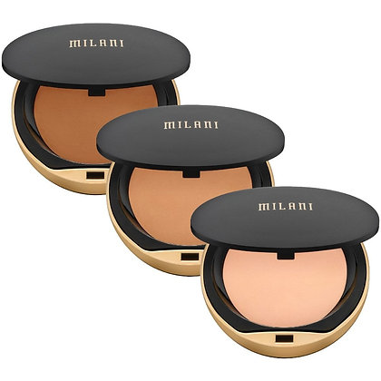 MILANI - POLVOS COMPACTOS CONCEAL + PERFECT SHINE-PROOF POWDER