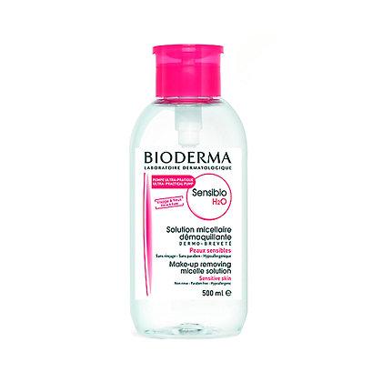 BIODERMA - AGUA MICELAR SENSIBIO H2O PUMP 500ML