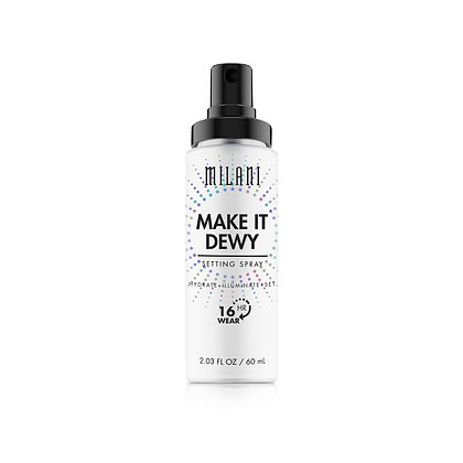 MILANI - FIJADOR MAKE IT DEWY 3-IN-1 SETTING SPRAY HYDRATE + ILLUMINATE + SET