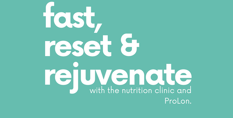 (EARLY BIRD) Fast, Reset and Rejuvenate