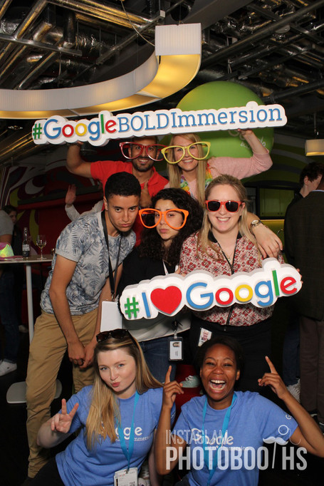 Google Selfie Fun for AdCamp & BoldImmersion Programme.