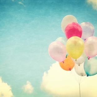 Birthday Balloons Sky