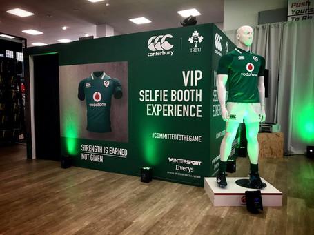 Canterbury | IRFU VIP Selfie Booth Experience.