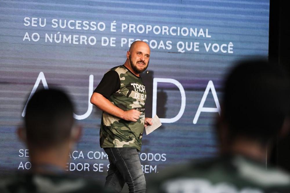 Diego Maia palestrante de vendas