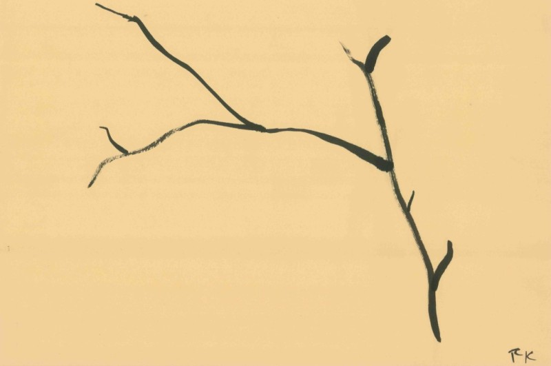 Branches Study (3) - Inida Ink