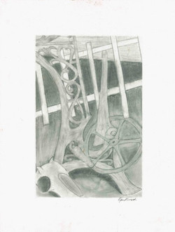Country Still Life - Graphite