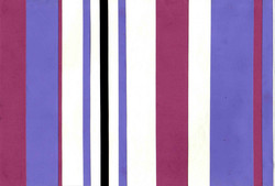 Vertical Lines - Colored Paper