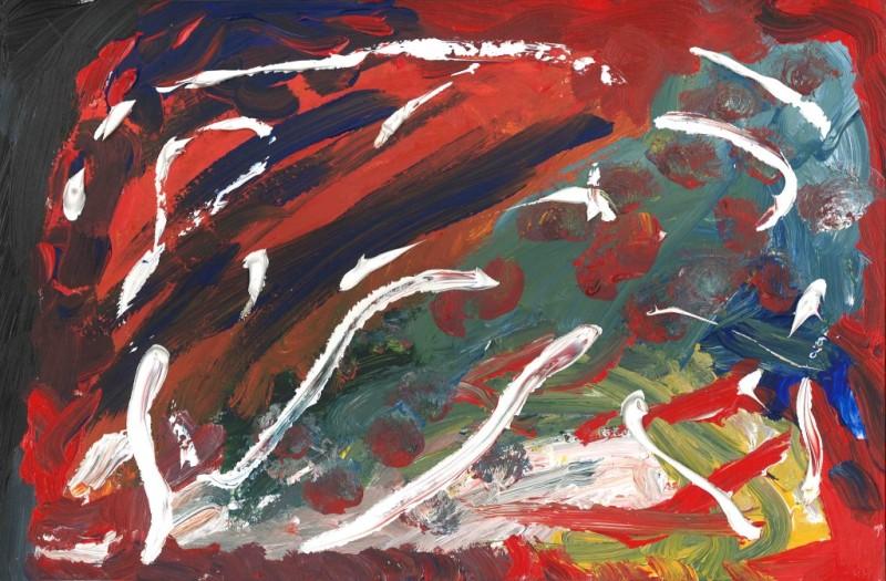 Chaos - Acrylic Paint