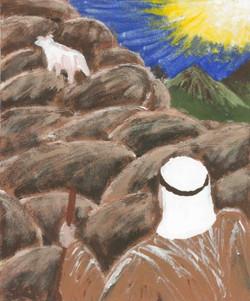 Lost Sheep - Acrylic Paint