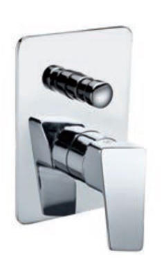 Shower Mixer with Diverter