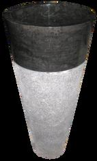 Washbasin Round Tower Hammered