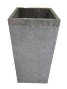 Washbasin Square Pedestal with Stripes
