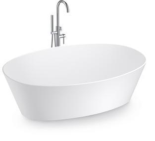 LEEO FREE STANDING BATHTUB