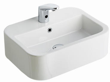 Aqua Countertop Rectangular Wash Basin 55cm