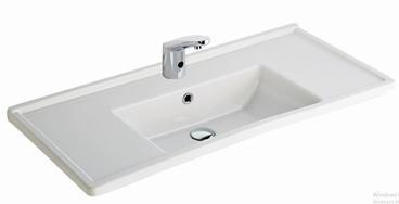 Silva Wash Basin Edged Shelf 100CM