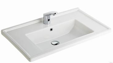 Silva Wash Basin Edged Shelf 80CM