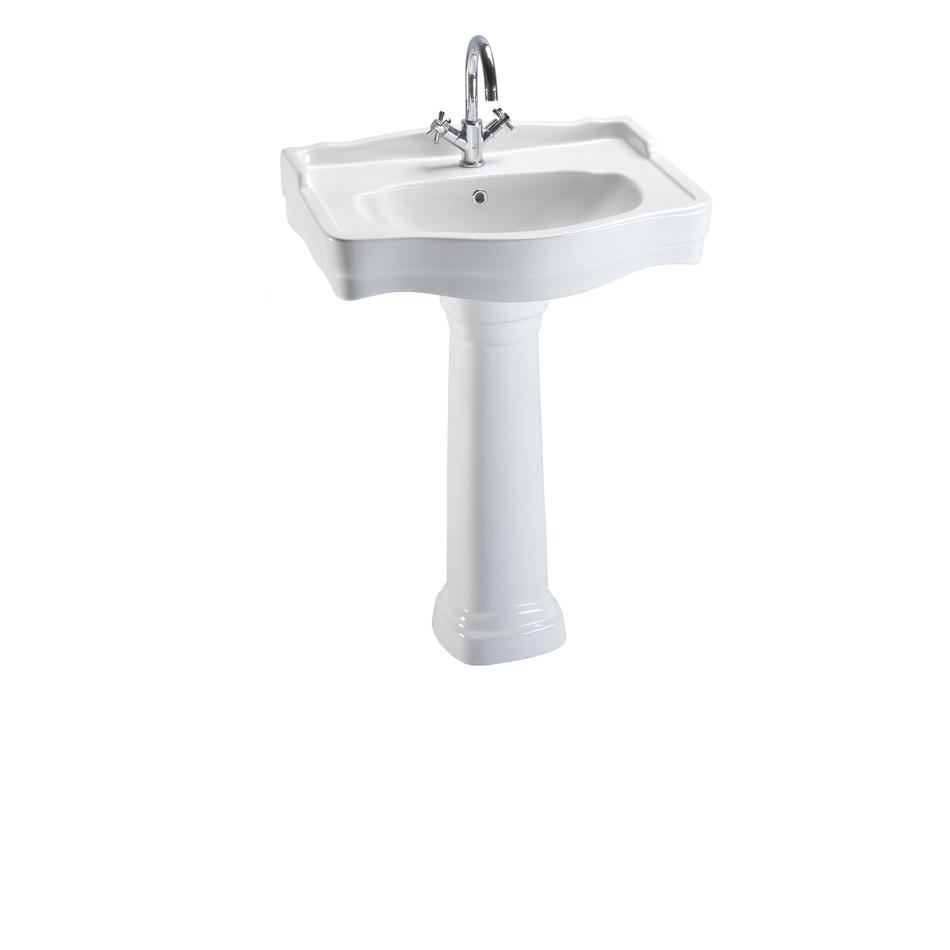 Zeugma Wash Basin With Full Pedestal