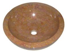 Washbasin Round Baskom Red