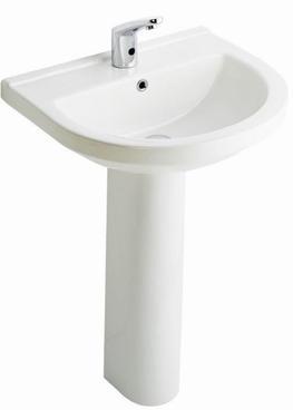 Terra Wash Basin Full Pedestal