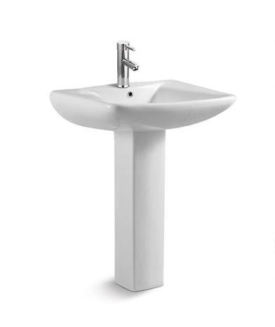 Hebe Washbasin with Full Pedestal