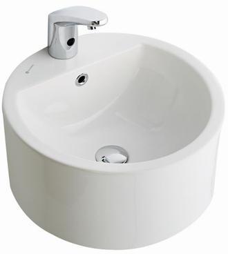 Aqua Countertop Round Wash Basin 44CM