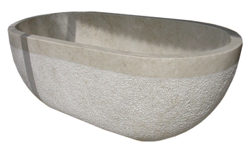 Bathtub Curve with Carved Outside