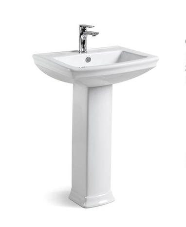Grace Wash Basin with Full Pedestal