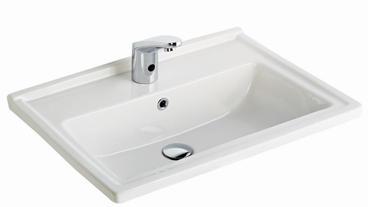 Silva Wash Basin Edged Shelf 65CM