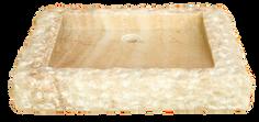 Washbasin recta Marmo