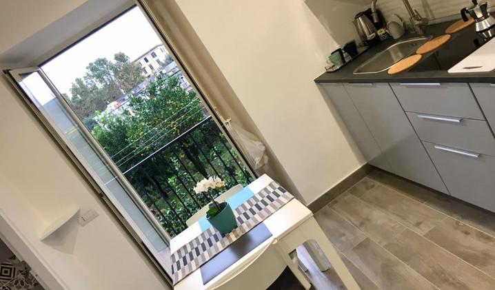 cucina-kitchen-napoli-casa-vacanze-Volca