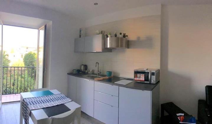 cucina-kitchen-volcano-casa-vacanze-bed