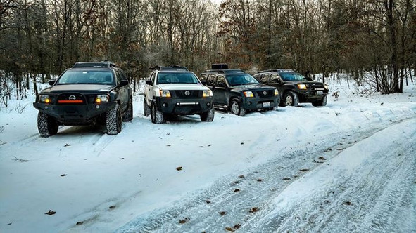 GLX Members Attend MWO Winter Campout