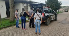 POLÍCIA CIVIL PRENDE INDIVÍDUO POR MARIA DA PENHA