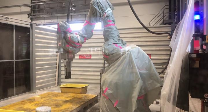 MOBBOT 3D printing cell in Matériaux Sabag