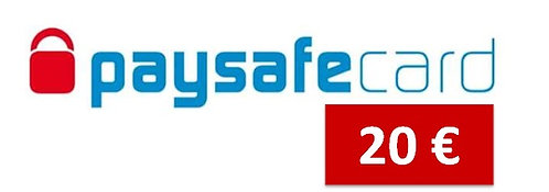 Paysafe Card - 20€ - Download nach Zahlung