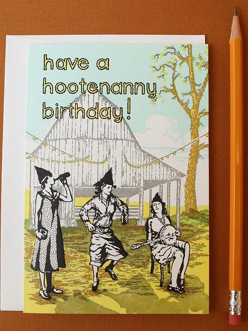 HAPPY HOOTENANNY!