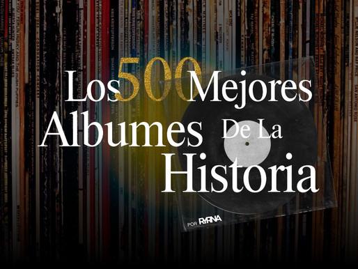 El Hip-Hop en los 500 Mejores álbumes de todos los tiempos.