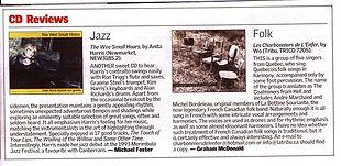Canberra Times CD Review 2005 | Anita Harris Jazz