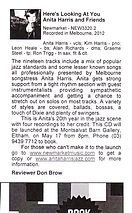 Jazz Scene Review 2013 | Anita Harris Jazz
