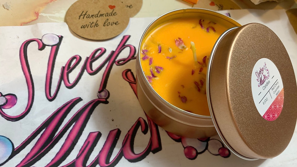 6.oz Red Cherry Cucumber Melon Candle