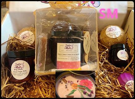 11 Piece Brown Sugar Baby SkinCare Spa Set