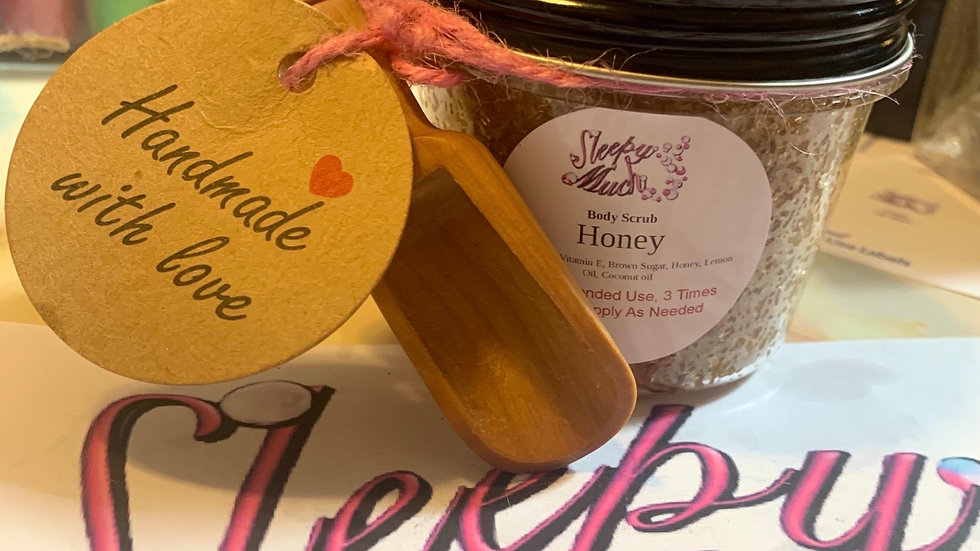 4.oz Honey Body Scrub