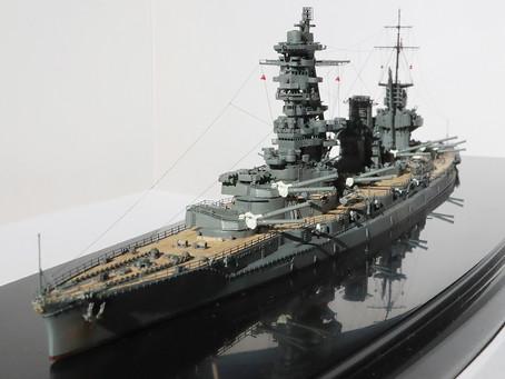 戦艦山城ー完成(1/700フジミ)