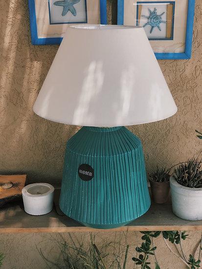 Handmade Glazed Lamp